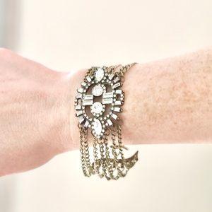 Vintage Boutique Bracelet with Gemstone.